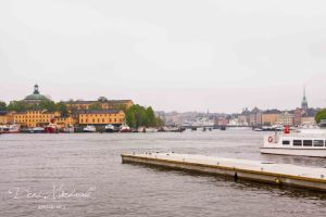 Beauty of Stockholm on one cloudy day