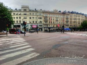 When Stockholm turned become a ghost city